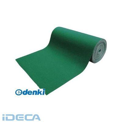 CV74064 吸油・吸水ロールマット 緑 フィルム付 幅900mmx25m