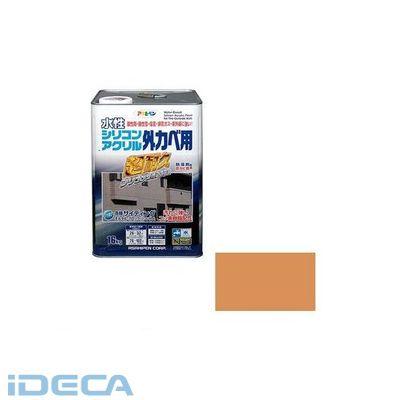 BL44641 アサヒペン 水性シリコンアクリル外かべ用 16KG ラフィネオレンジ