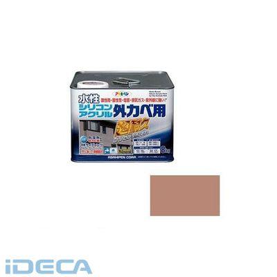BN62356 アサヒペン 水性シリコンアクリル外かべ用 8KG ソフトオーカー