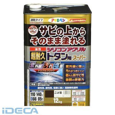 BR29196 油性超耐久シリコンアクリルトタン 12kg こげ茶