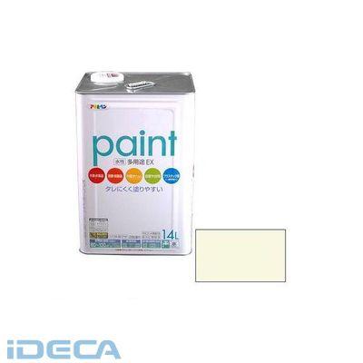 DM05484 アサヒペン 水性多用途EX 14L アイボリー