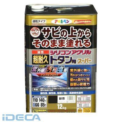 FN06407 油性超耐久シリコンアクリルトタン 12kg 新茶
