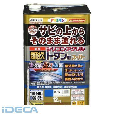 JW83618 油性超耐久シリコンアクリルトタン 12kgスカイブルー