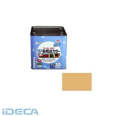 KT22035 アサヒペン 水性多用途カラー 10L シトラスイエロー
