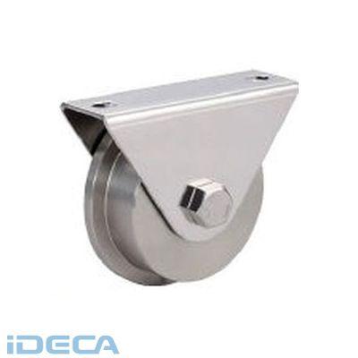 DN12017 SUS製重量用戸車枠付L型JS315-150L【200024779