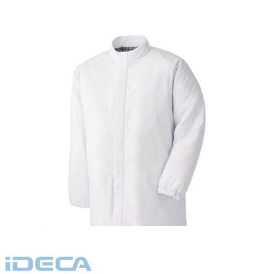 KU45992 食品工場用防寒コート ホワイト SS