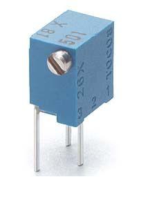 【受注生産品 納期-約3ヶ月】東京コスモス(TOCOS) [RJC261X B501] 多回転型 サーメットトリマ (500Ω)(10個入) RJC261XB501
