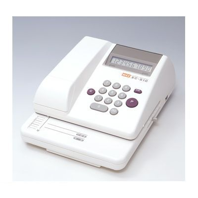 マックス MAX EC-510 マックス 電子チェックライタ【1台】 EC510