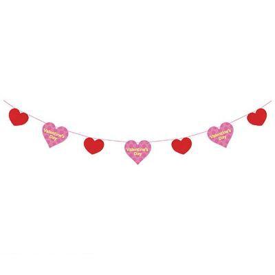 DEGA9926 バレンタインデーガーランド 5 造花 業界No.1 数量限定につき セール開催中最短即日発送 売切の際はご了承ください 装飾