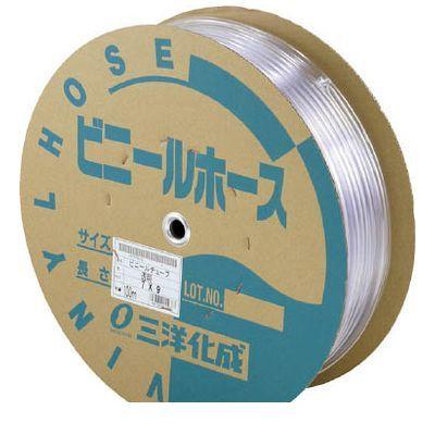 【個数:1個】三洋化成 サンヨー TM912D100T 透明ホース9×12 100mドラム巻 397-4235