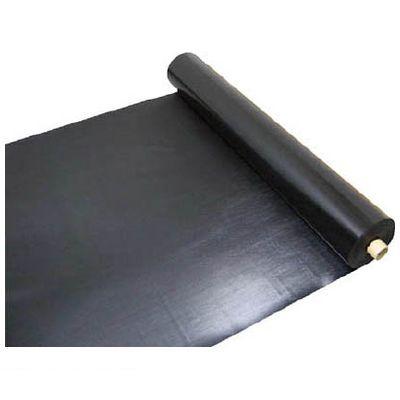 【あす楽対応】【個数:1個】ワニ印[003082] 塩ビ養生シート 黒 厚み0.5MM 1M×30M