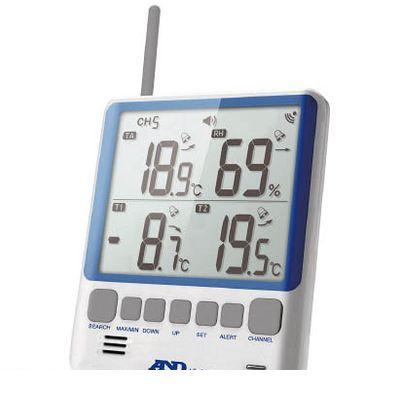 A&D AD5663 マルチチャンネル温湿度計