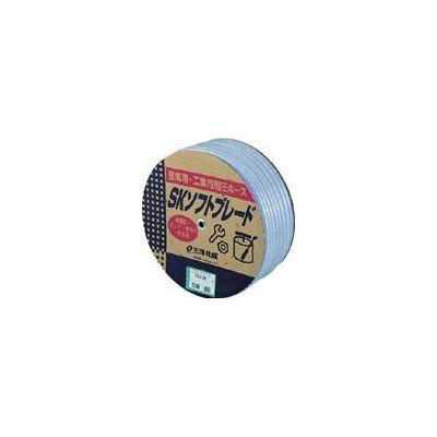 【個数:1個】サンヨー SB915D50B SKソフトブレードホース9×15 50mドラム巻
