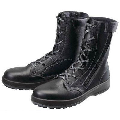 シモン WS33C27.0 安全靴 長編上靴 WS33黒C付 27.0cm