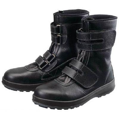 【あす楽対応】シモン WS3826.0 安全靴 長編上靴 マジック WS38黒 26.0cm