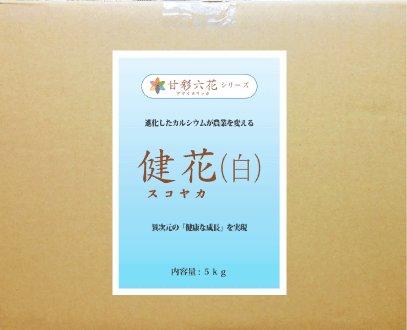 【送料込】吸収されるカルシウム 健花(スコヤカ)【5kg】[肥料 土壌改良 家庭菜園 園芸]