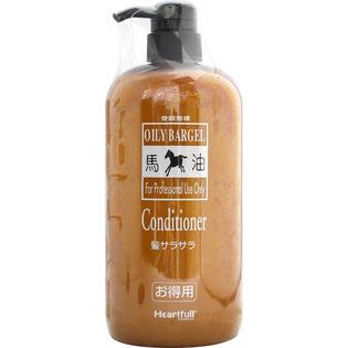馬油成分とマリンコラーゲンが 輝きのあるつややかな髪を実現 オイリーバーゲル コンディショナー プロテリィ 供え 1000ml 大好評です
