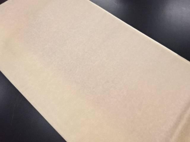 【IDN】 未使用品 引箔のり散らし模様袋帯(未仕立て)【リサイクル】【着】