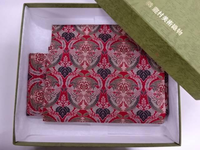 【IDN】 龍村美術織物製 壬生寺楽ぴた作り帯【q新品】【着】
