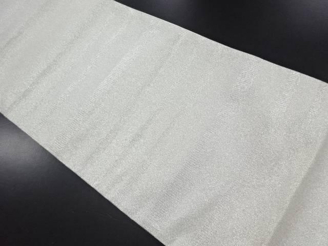 【IDN】 未使用品 綴れ横段模様織り出し袋帯(未仕立て)【リサイクル】【着】
