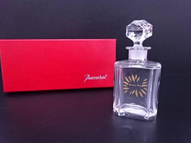 【IDN】 Baccarat 香水瓶【中古】【道】