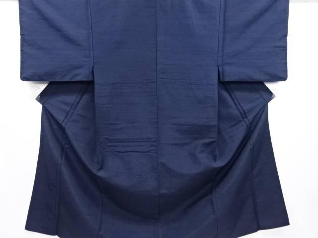【IDN】 手織り節紬男物着物アンサンブル(キングサイズ)【リサイクル】【中古】【着】