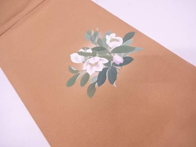 【IDN】 草花模様袋帯【リサイクル】【中古】【着】