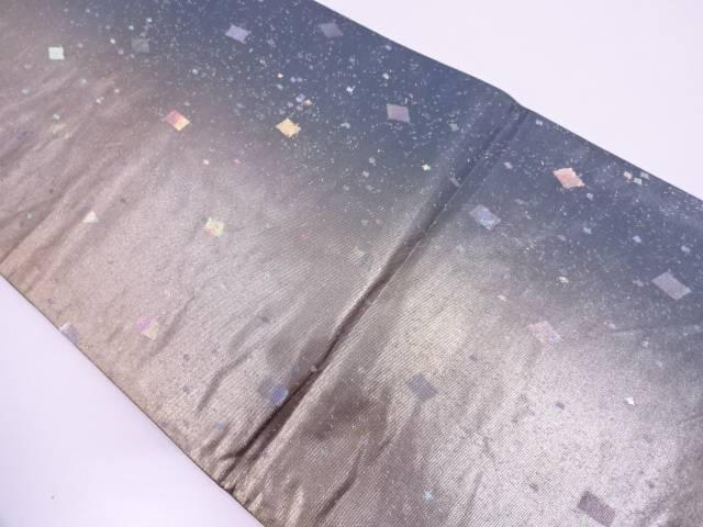 【IDN】 引箔色紙散らし模様織出し袋帯【リサイクル】【中古】【着】