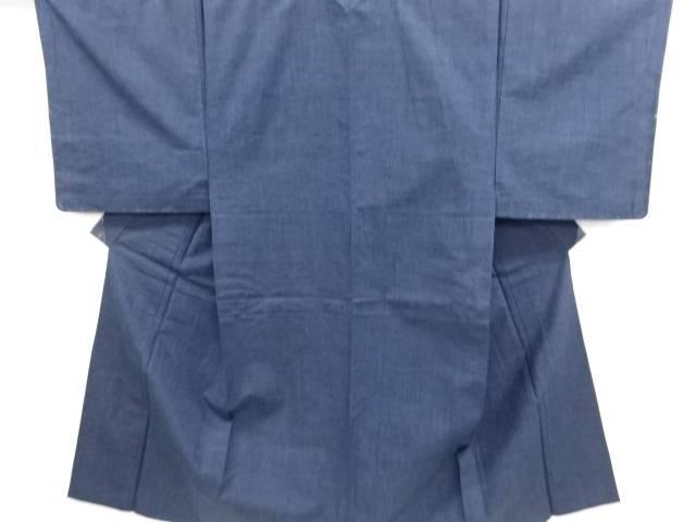 【IDN】 未使用品 仕立て上がり 手織り真綿紬単衣男物着物アンサンブル【着】