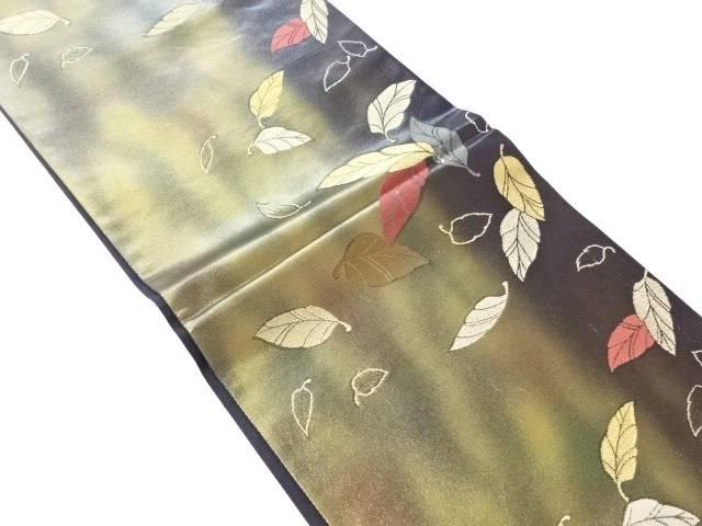【IDN】 袋帯 木の葉の舞【リサイクル】【中古】【着】