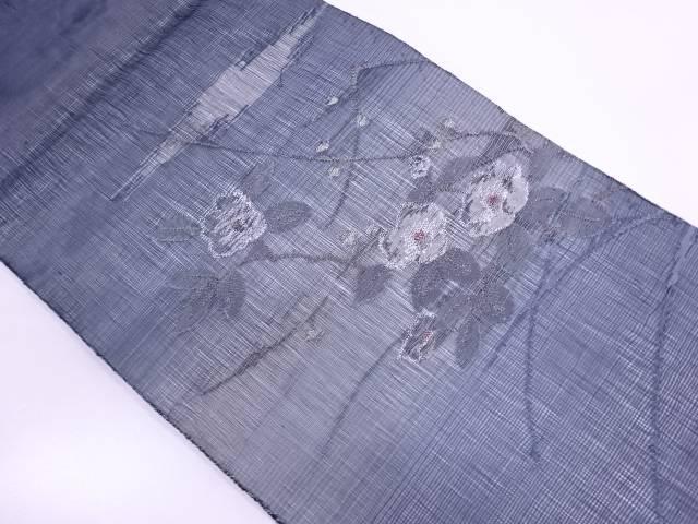 【IDN】 紗 すくい織椿模様袋帯【リサイクル】【IDN】【中古】【着】, リデューカークリエーション:2b48bf26 --- insidedna.ai