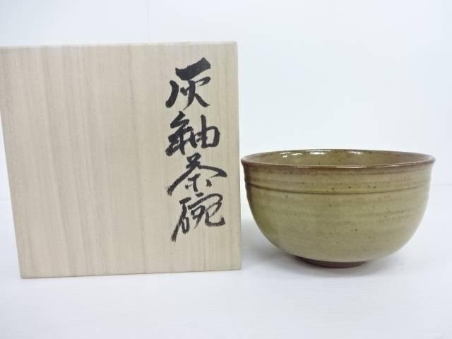 【IDN】 三宝窯 後田和孝造 灰釉茶碗【中古】【道】