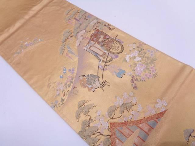 【IDN】 吉野御幸図織出し袋帯【リサイクル】【中古】【着】