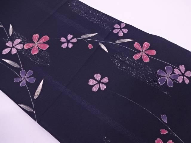 【IDN】 未使用品 桜模様全通袋帯【リサイクル】【着】