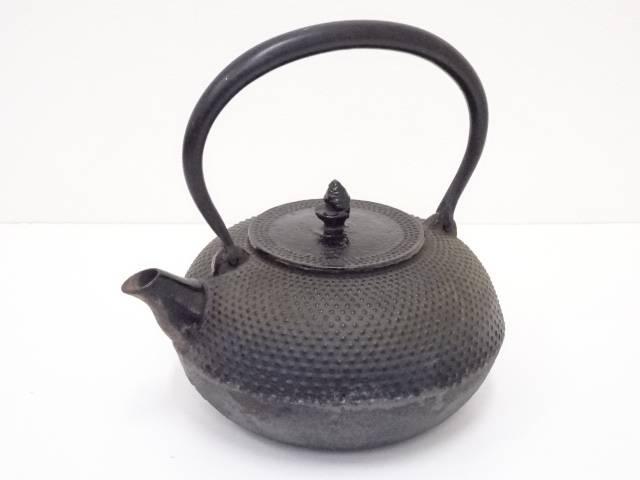 【IDN】 南部鉄器 鉄瓶(1835g)【中古】【道】