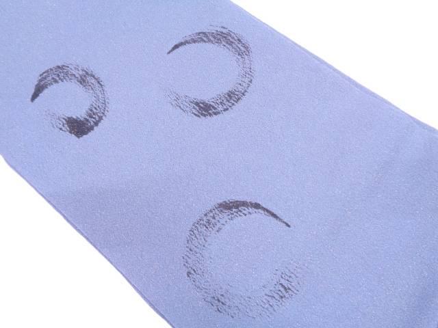 【IDN】 手描き抽象模様名古屋帯【リサイクル】【中古】【着】