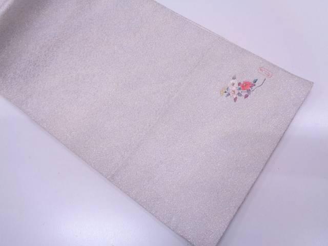 【IDN】 枝花模様刺繍袋帯【リサイクル】【中古】【着】