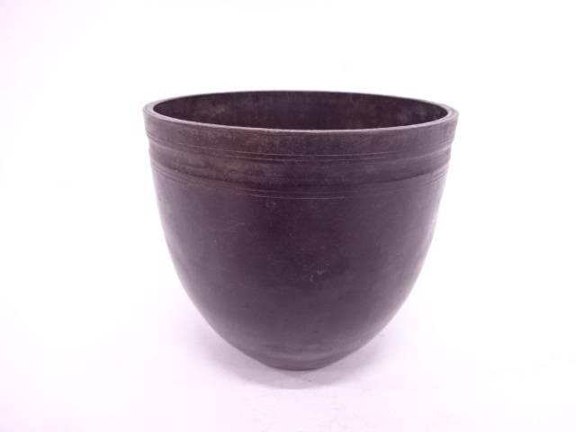 【IDN】 千家十職 中川浄益造 銅器棒先建水【中古】【道】