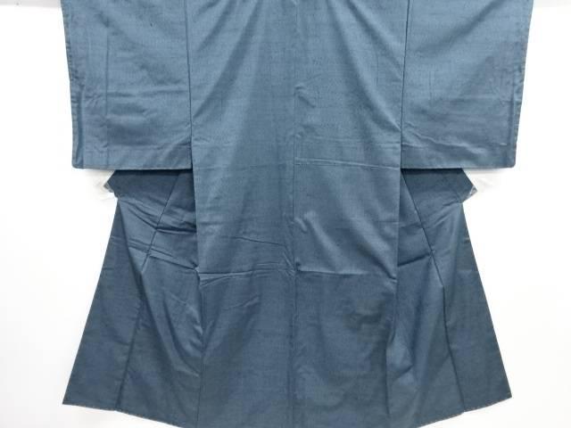 【IDN】 未使用品 手織り紬男物着物アンサンブル【リサイクル】【着】