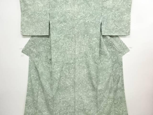 【IDN】 川野義和作 墨流し小紋着物【リサイクル】【中古】【着】
