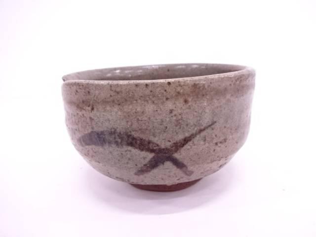 【IDN】 古物 鉄絵茶碗【中古】【道】