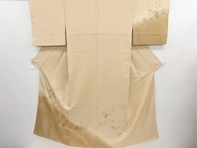 【IDN】 汕頭蘇州刺繍霞に木蓮模様訪問着【リサイクル】【中古】【着】