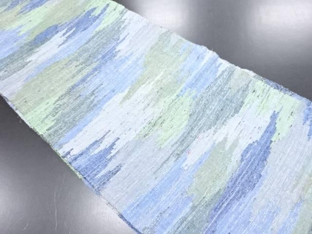 【IDN】 霞模様織り出し名古屋帯【リサイクル】【中古】【着】