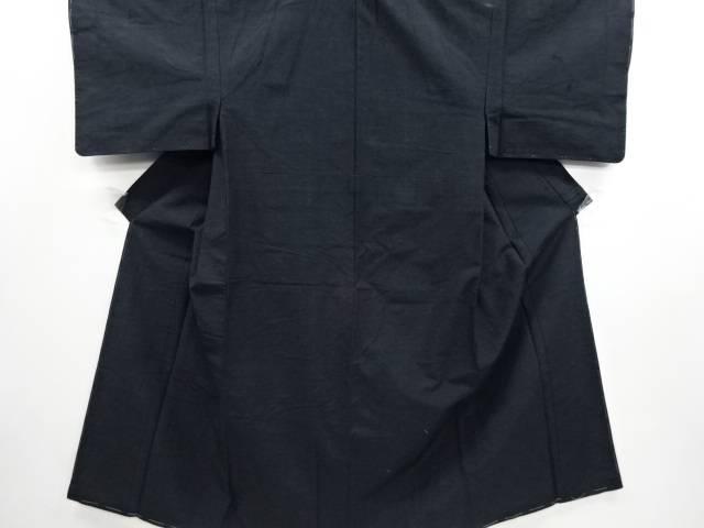 【IDN】 手織り節紬男物着物アンサンブル【リサイクル】【中古】【着】