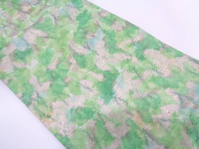 【IDN】 川島織物製 抽象模様織出し名古屋帯(着用可)【アンティーク】【中古】【着】