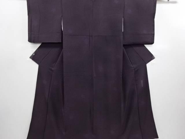 【IDN】 ジュサブロー作 枝蕾に花模様小紋着物【リサイクル】【中古】【着】