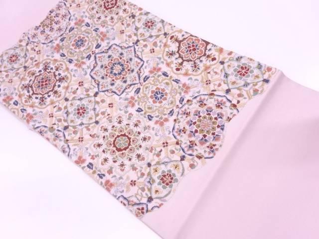 【IDN】 相良刺繍華文模様袋帯【リサイクル】【中古】【着】