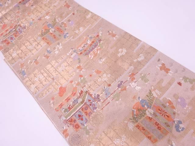 【IDN】 祇園祭模様織出し袋帯【リサイクル】【中古】【着】