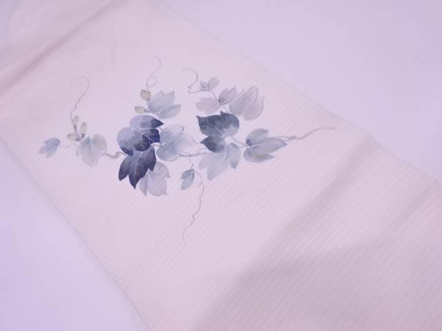 【IDN】 絽蔦の葉模様名古屋帯【リサイクル】【中古】【着】