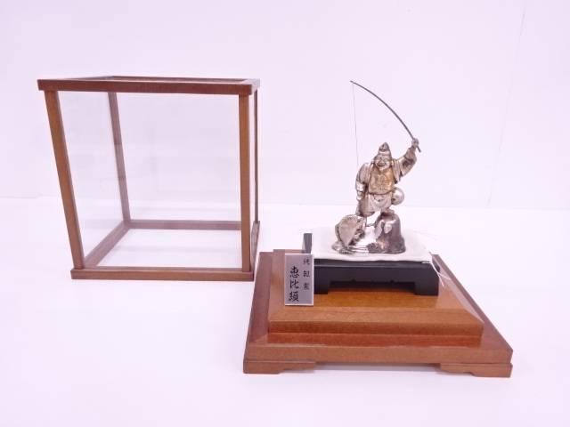 【IDN】 純銀製恵比須置物(64グラム)【中古】【道】